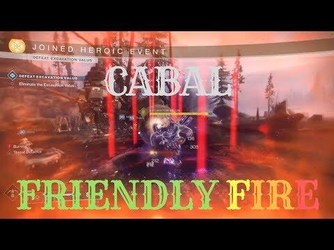 CABAL FriENDLY FIRE #MOTW