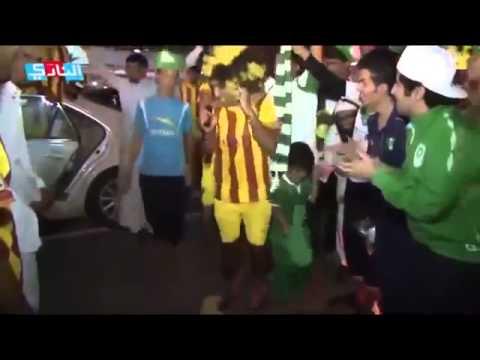 جمهور الاهلي و الاتحاد و رقصة البطريق