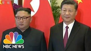 North Korea's Kim Jong Un Makes His Third Visit To China This Year | NBC News - NBCNEWS
