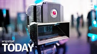 RED is building an 8K 3D camera for its holographic phone | Engadget Today - ENGADGET