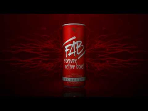 FAB Forever Active Boost - Natural Energy Drink