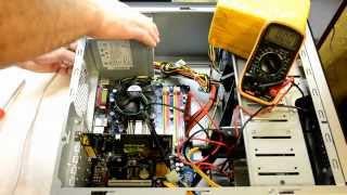 Диагностика и ремонт компьютера (не включается)
