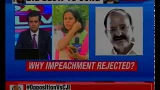 Opposition Vs CJI: Admission of notice not desirable, says V-P; NewsX accesses V-P's order copy - NEWSXLIVE