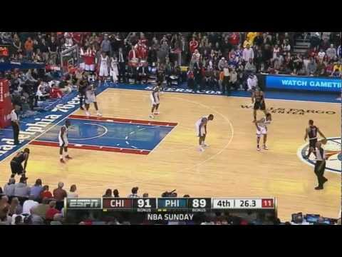 Derrick Rose Highlights vs Sixers (3.4.12) [HD]