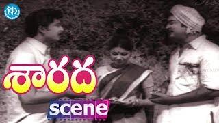 Sarada Movie Scenes - Shobhan Babu Praising Sharada ||  Kaikala Satyanarayana || Allu Ramalingaiah - IDREAMMOVIES