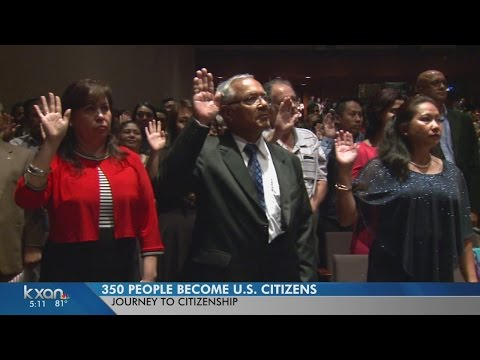 350 people become U.S. citizens in Austin