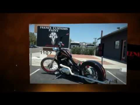Tempe Motorcycle Painting | Custom Airbrushing & Pinstriping