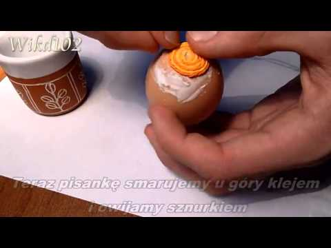 Jak zrobić pisanki z bibuły