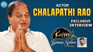 Chalapathi Rao Uncovered || Exclusive Interview || Koffee With Yamuna Kishore #17 - IDREAMMOVIES