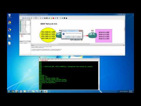 GNS3 Tutorial - Getting Started with GNS3 on Windows 7 - Building & Saving Your Topologies
