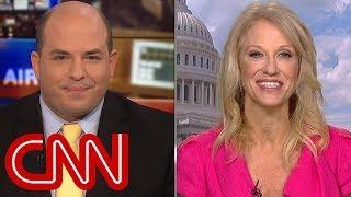 Stelter presser Kellyanne Conway on Trump's Russia tweets - CNN