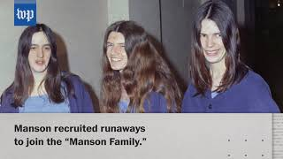 Cult leader Charles Manson dead at 83 - WASHINGTONPOST