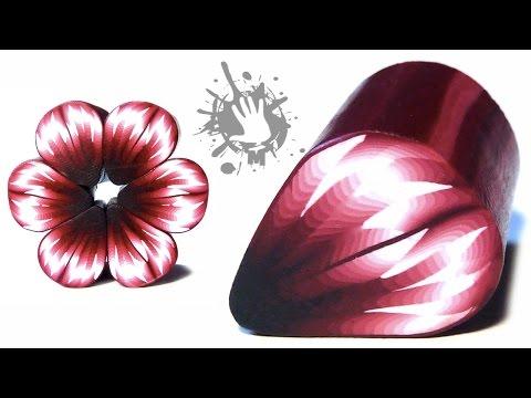 """Кейн """"Цветок"""" из полимерной глины, лепка"""
