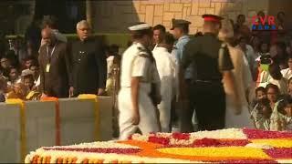 Gandhi Jayanthi 2018 Celebrations at Raj Ghat in  New Delhi   CVR News - CVRNEWSOFFICIAL