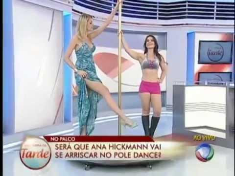 Alessandra Telles no Programa de Ana Hickmann e Brito Junior