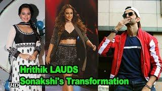 Hrithik calls Sonakshi 'STUNNING' says will INSPIRE many - IANSLIVE