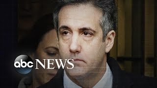 Trump silent after Michael Cohen sentencing - ABCNEWS