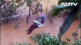 2-Month-Old Rescued In Rained Out Coorg, Watch Heart-Warming Video - NDTV