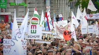 مظاهرات في المجر منددة بالفساد وبسياسية رئيس الوزراء