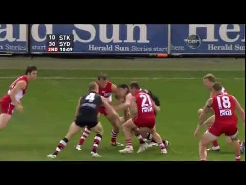 St Kilda Saints v Sydney Swans - AFL 2011 2nd Elimination Final - Highlights