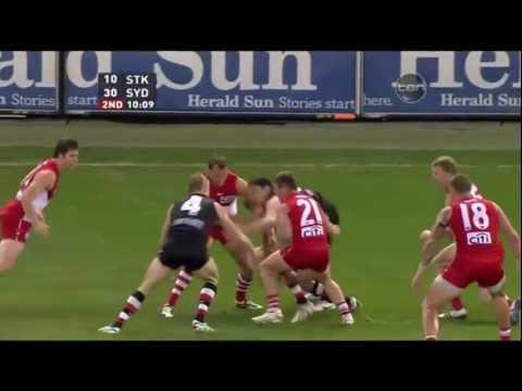 St Kilda Saints v Sydney Swans - AFL 2011 2nd Elimination Final - Highlights