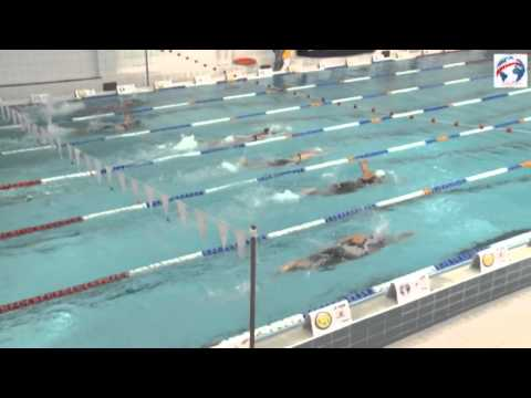 Modern Pentathlon Senior World Championships 2014 Warsaw - Men Swimming Final - Day 5