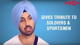 Diljit Dosanjh On Working With Director Shaad Ali In Soorma | Star Of The Month - ZOOMDEKHO