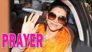 Deepika Padukone's visit to Siddhivinayak Temple - EXCLUSIVE