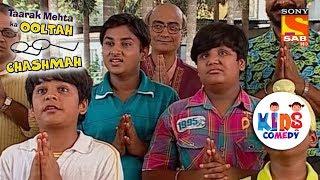 Tapu Sena Prays For A Good Result | Tapu Sena Special | Taarak Mehta Ka Ooltah Chashmah - SABTV