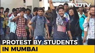 30 Mumbai Trains Cancelled As Job-Seekers Sat On Rail Tracks - NDTV