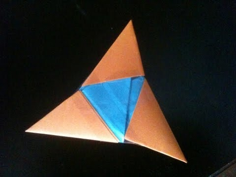 how to make a paper spike ball easy