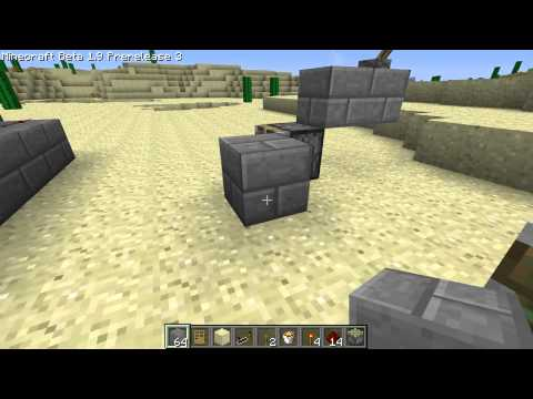 Minecraft - Tutorial: Door Trap