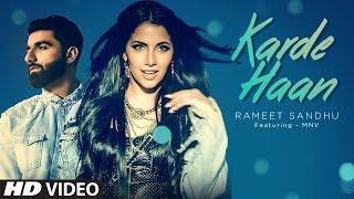 KARDE HAAN Video Song | Rameet Sandhu | MNV | New Song 2019 - TSERIES