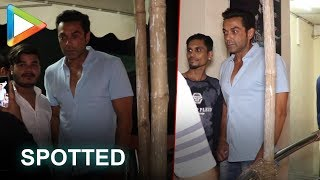 Race 3 star Bobby Deol spotted at PVR Juhu!!! - HUNGAMA