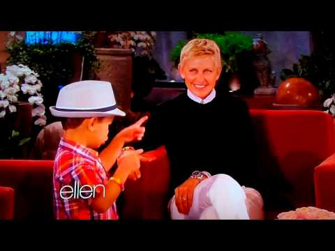 4 Year Old Kai Langer Sings Bruno Mars For Ellen Degeneres - So Cute!! May 8, 2013