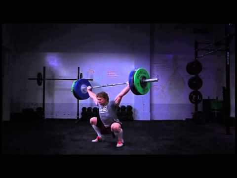 CrossFit - Chad Vaughn, 285 pound Snatch