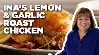 Ina Garten Makes Lemon and Garlic Roast Chicken | Food Network - FOODNETWORKTV
