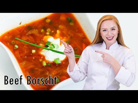 How to Make Borscht - Борщ