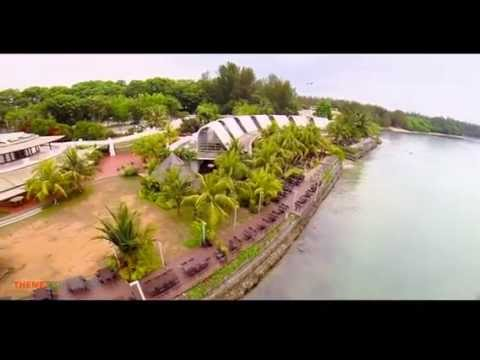 AERIAL FOOTAGE AT GURAME INDONESIAN RESTAURANT SINGAPORE