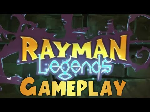 Rayman Legends - Gameplay Walkthrough E3 2012 Demo