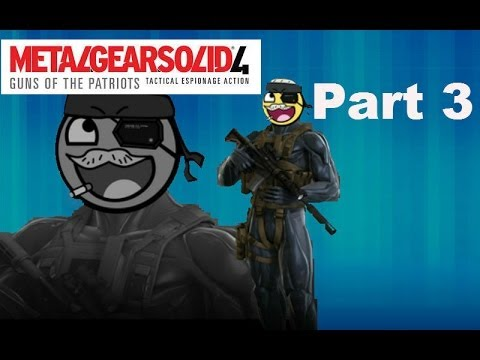 Metal Gear Solid 4 | Part 3 | Mmmm | 2 Player Network