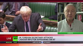 BoJo's comments on RT 'absolute rubbish' – ex-mayor Ken Livingstone - RUSSIATODAY