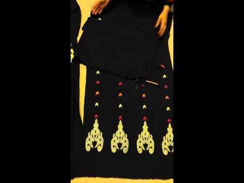 Pakistani Linen Embroidered Suit Dark Purple buy it now from www.bazaarofpakistan.com