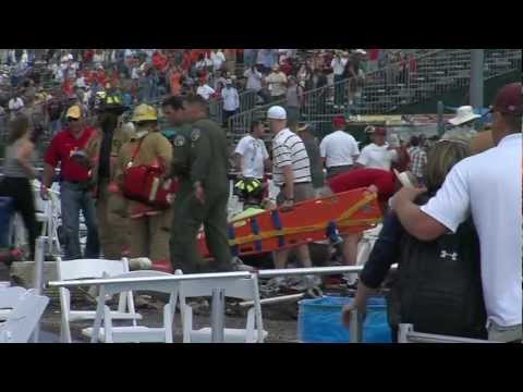 Original Raw Footage: Reno Air Race Plane Crash 2011 Ground Rescue