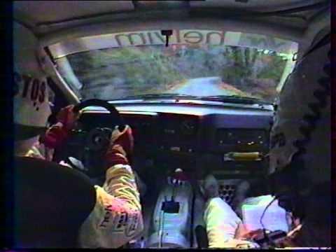 B.BEGUIN-JM ANDRIE Rallye du Var 1991