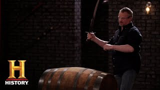 Forged in Fire: The Kilij Kill Test (Season 5) | History - HISTORYCHANNEL