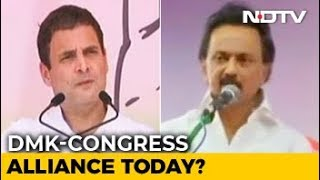 Congress May Get 9 Seats In Tamil Nadu Alliance With DMK: Sources - NDTV