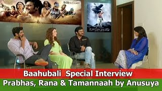Baahubali Exclusive Interview - TFPC | Prabhas, Rana & Tamannaah - TFPC