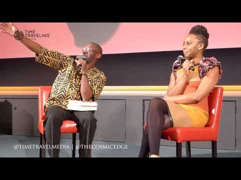 Chimamanda Adiche speaks at the 2014 New African Film Festival