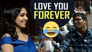 Super Fan Propose To Ritu Varma In Live @ Keshava Movie Pre-Release Event | Super Fun | TFPC - TFPC